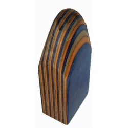 1920 Koivuviilu BW/BO/RB vaaleanruskea, oranssi, sininen