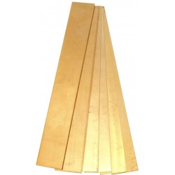 3000 Messinkilevy 50 x 200 x 0,15 mm