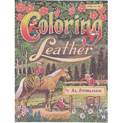 9907 Kirja Coloring Leather