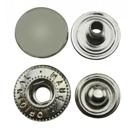 2509 Neppari 10,5 mm Nikkeli 10 kpl