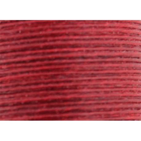 Vahakäsitelty ompelulanka punainen