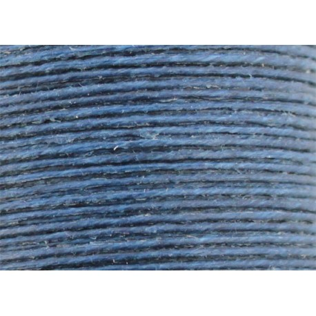 Vahakäsitelty ompelulanka sininen