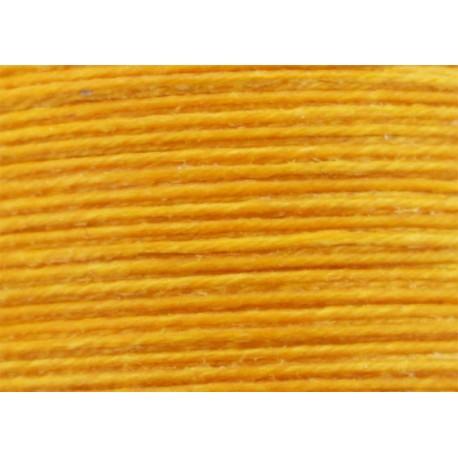 Vahakäsitelty ompelulanka keltainen