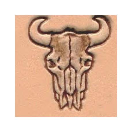 4127 Punsseli 3D Buffelin pääkallo