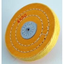 4503 Kiillotuslaikka kangas 150 x 15 mm Keltainen